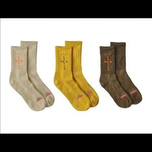 Travis Scott cactus trails hiking socks pack of 3